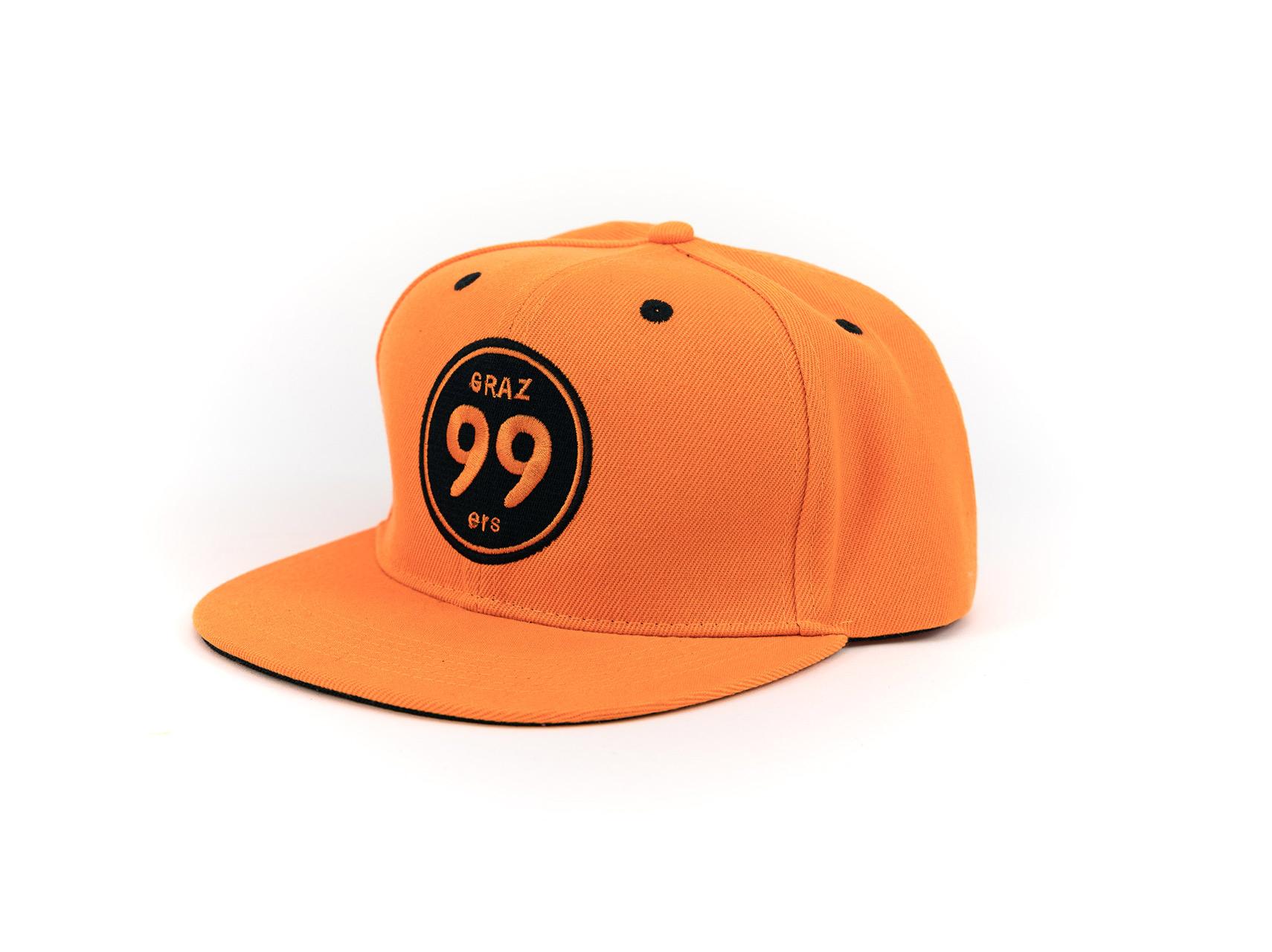 Kappe orange - Moser Medical Graz99ers