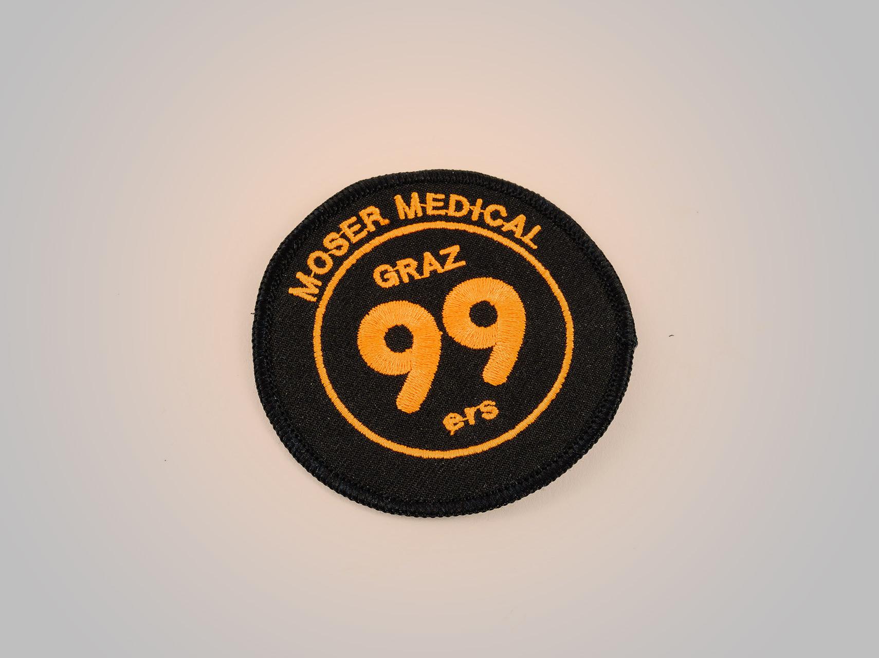 Aufnäher - Moser Medical Graz99ers