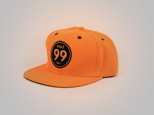 Kappe orange - Moser Medical Graz99ers