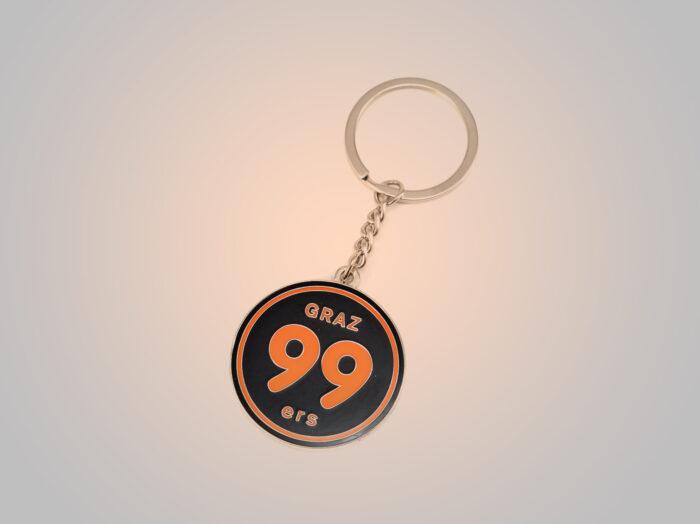 Schlüsselanhänger Logo - Moser Medical Graz99ers