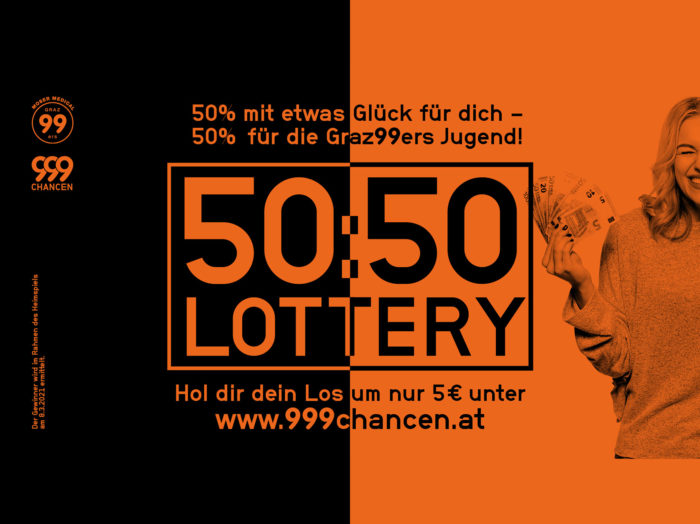 999Chancen - 50:50 Lotery - Moser Medical Graz99ers